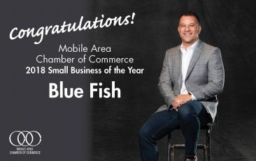 Blue Fish Small Business Of The Year Mobile Chamber Of Commerce