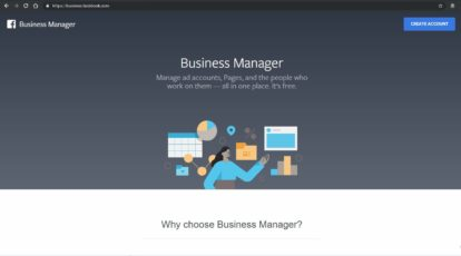 Creating a Basic Facebook Business Manager Account