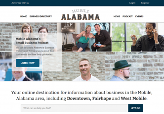 New Business Community Website Launches for Mobile, Alabama