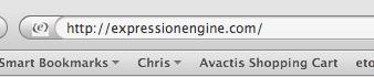 Navigate to the ExpressionEngine Website