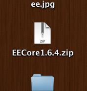 Unzip the ExpressionEnigine Core file that was downloaded